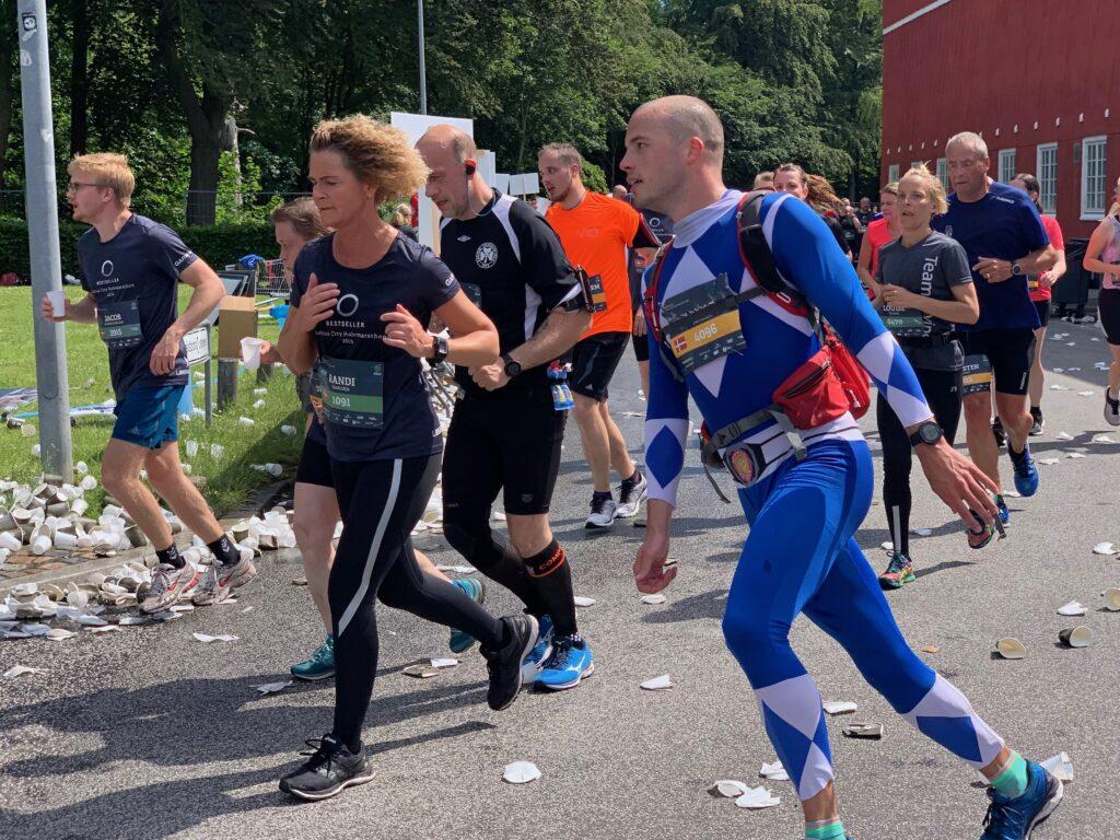 Sportsmassør til halvmarathon